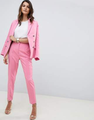 Asos Design DESIGN pintuck suit pants
