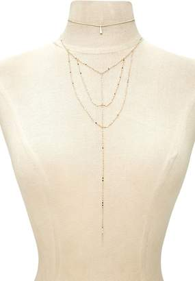 Forever 21 Choker & Caged Necklace Set