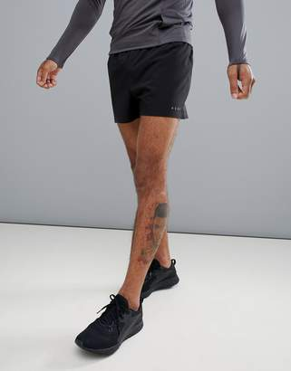 Asos 4505 4505 training shorts in short length in black
