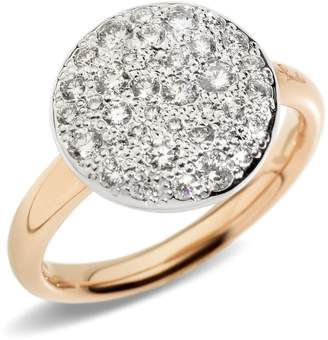 Pomellato Sabbia Black Diamond Ring