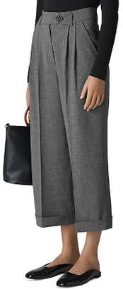 Whistles Cuffed Cropped Pants