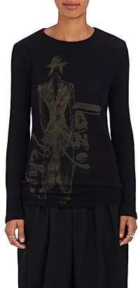 """Yohji Yamamoto Women's """"Lazy Yohji"""" Wool Sweater $620 thestylecure.com"""