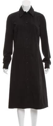 Michael Kors Button-Up Midi Dress