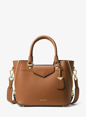 Michael Kors Blakely Leather Satchel