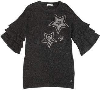 Blend of America Stars Lurex & Wool Knit Dress