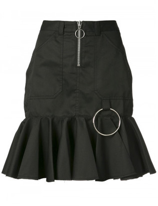 Marques peplum skirt