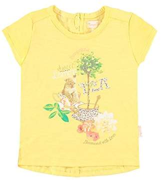 Pampolina Girl's T-Shirt - Yellow - 6-9 Months