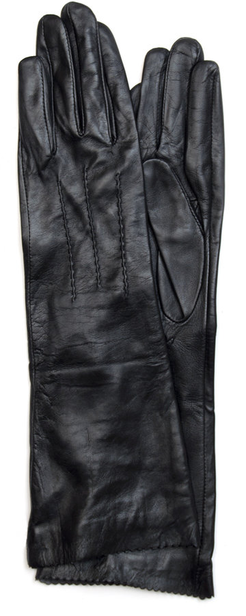 TOUCH - Long leather gloves