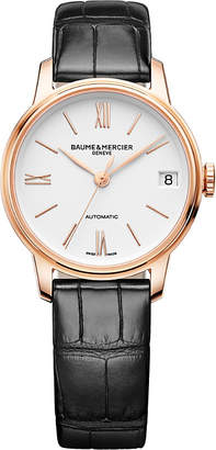 Baume & Mercier 10270 Classima alligator-leather watch