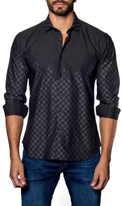 Jared Lang Check Trim Fit Shirt