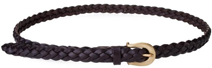 THE OLD CURIOSITY SHOP - Brown leather belt
