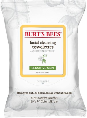 Burt's Bees Sensitive Skin Facial Cleansing Towelettes