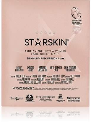 Starskin Women's SILKMUDTM Pink French Clay Purifying Liftaway Mud Face Sheet Mask