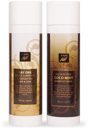 Deluxe Cream Cleansers for Hair and Skin - Two Bottle Set