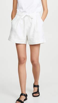 Vince Pencil Stripe Shorts