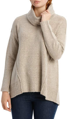Jump Long Sleeve Split Back Pullover