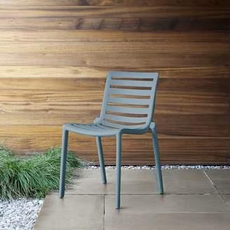 west elm Stackable Slat Outdoor Chairs (Set of 2)