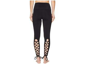 Onzie Laced-Up Leggings Women's Casual Pants