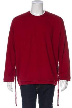 Stampd Crew Neck Distressed Sweatshirt