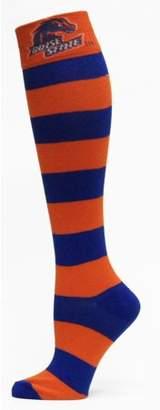 Donegal Bay Boise State Broncos Striped Dress Sock