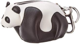 Loewe Panda Leather Coin Charm
