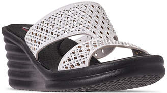 Skechers Women Rumblers - Wave Ibiza Sandals from Finish Line