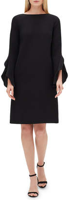 Lafayette 148 New York Emory Finesse Crepe Shift Dress