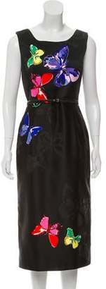 Marc Jacobs Satin Butterfly Dress