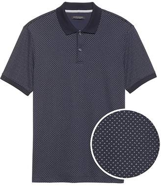 Banana Republic Luxury-Touch Tri-Dot Polo
