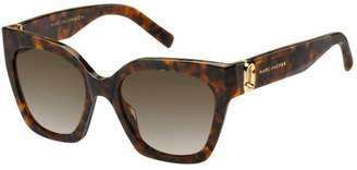 Marc Jacobs Sunglasses Marc 182/S 0086 Dark Havana/HA brown gradient lens