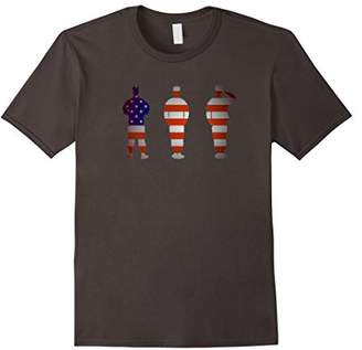 Things By Sally: American Soldier Flag Patriotic T-Shirt