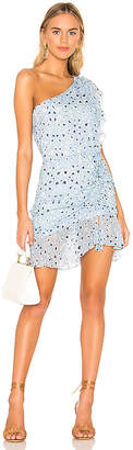 Karina Grimaldi Tana Print Mini Dress