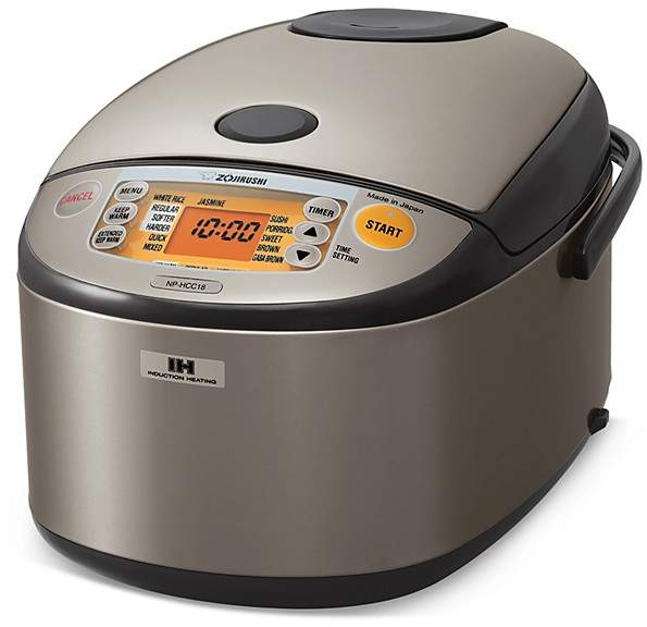Zojirushi Induction Heating 10-Cup Rice Cooker & Warmer