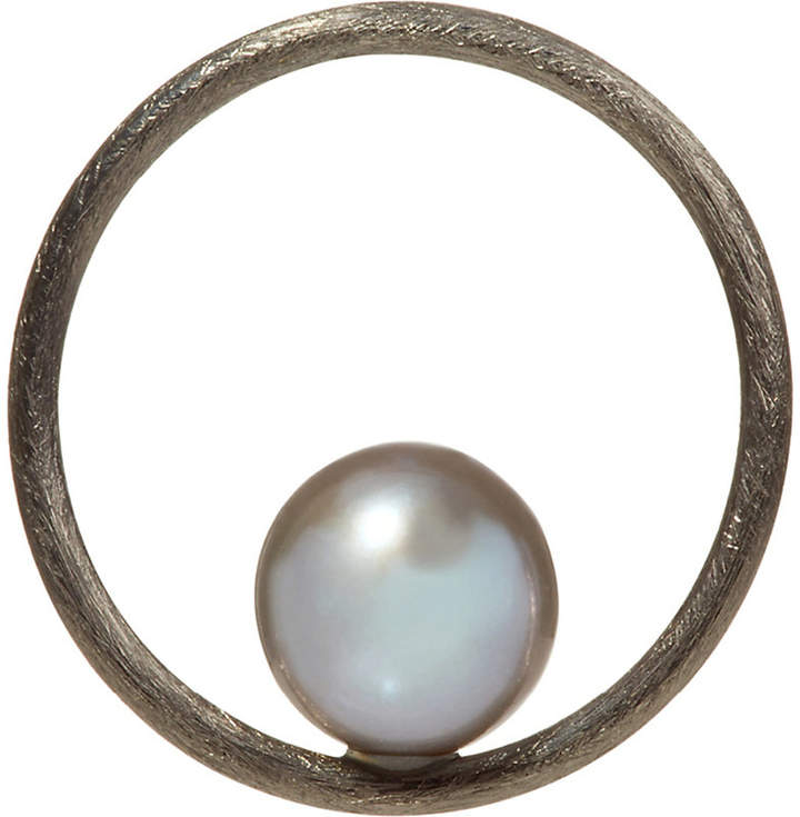 Annoushka Hoopla pearl 18ct white-gold pendant