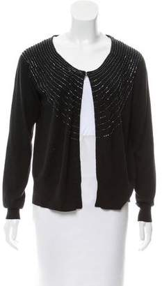 Christopher Fischer Beaded Silk Cardigan