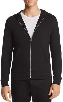 Theory Layer Zip Hooded Sweatshirt