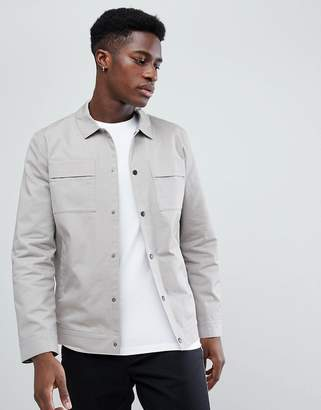 Selected Jacket With Chest Pockets