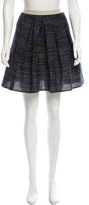 Hache Striped Mini Skirt w/ Tags