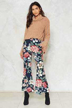 Nasty Gal Hyacinth House Floral Flare Pants