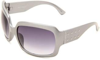 Rocawear Women's R792 SLVM Rectangle Sunglasses
