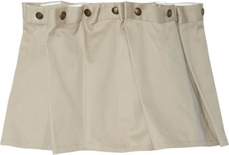 Y/PROJECT - Gathered Cotton-twill Mini Skirt - Beige