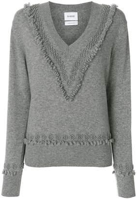 Barrie Vネック セーター