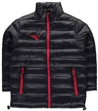 Boys Manchester Jacket Junior Rain Coat Top Long Sleeve Chin Guard
