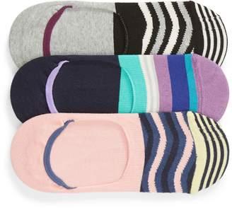 Happy Socks Stripe 3-Pack Liner Socks