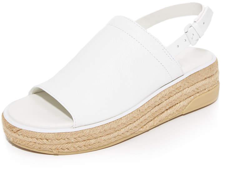 DKNYDKNY Sally Leather Espadrille Sandals