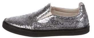 Maison Margiela Glitter Slip-On Sneakers