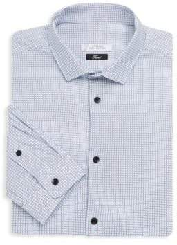 Versace Printed Cotton Dress Shirt