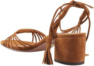 Aquazzura Block Heeled Sandals