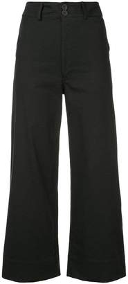 Apiece Apart flared cropped trousers