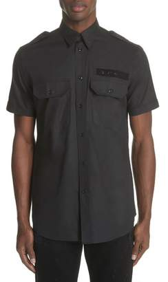 Givenchy Short Sleeve Woven Shirt